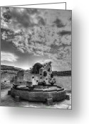 Cannonball Greeting Cards - Ft. Moultrie Canon  Greeting Card by Drew Castelhano