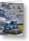 Cannonball Greeting Cards - Ft. Moultrie Canon II Greeting Card by Drew Castelhano