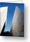 Art Of Building Greeting Cards - Gallery Abstract Greeting Card by Jan Faul