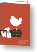 Game Greeting Cards - Game on Greeting Card by Budi Satria Kwan