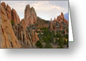 Garden Of The Gods Greeting Cards - Garden of the Gods - Colorado  Greeting Card by Mike McGlothlen