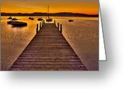 Stillness Greeting Cards - Gateway Greeting Card by Scott Mahon