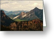 Montana Greeting Cards - Gateway To Yellowstone National Park Greeting Card by Flash Parker