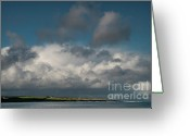 Mayo Greeting Cards - Gathering clouds Greeting Card by Marion Galt