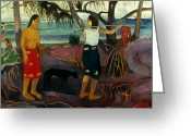 Gauguin Greeting Cards - Gauguin: Pandanus, 1891 Greeting Card by Granger