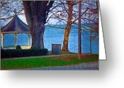 Gazebo Greeting Cards - Gazebo Niagara On The Lake Greeting Card by Deborah MacQuarrie