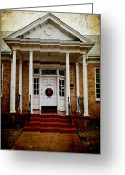 Stephens Greeting Cards - Genealogical Library  Greeting Card by Toni Hopper