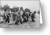 Military Photo Greeting Cards - General Douglas MacArthur Returns Greeting Card by War Is Hell Store