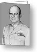 American Generals Greeting Cards - General James Doolittle Greeting Card by War Is Hell Store
