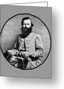 Civil Greeting Cards - General JEB Stuart Greeting Card by War Is Hell Store