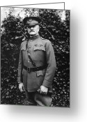 World War One Greeting Cards - General John J. Pershing Greeting Card by War Is Hell Store