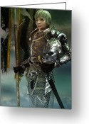 Armor Greeting Cards - General Greeting Card by Karen Koski