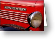 Antique Truck Greeting Cards - General Motors Truck Greeting Card by Thomas Young