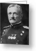 World War One Greeting Cards - General Pershing Greeting Card by War Is Hell Store