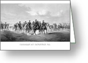 The War Between The States Greeting Cards - General Sherman At Savannah Greeting Card by War Is Hell Store