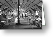 Inside Of Greeting Cards - General View Of A Typical Medical Ward Greeting Card by Stocktrek Images