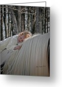Storybook Greeting Cards - Gentle Darkness Greeting Card by Terry Kirkland Cook