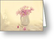 Chic Greeting Cards - Gentle Light Greeting Card by Linde Townsend