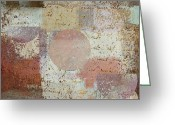 Textured Art Greeting Cards - Geomix - 16c3dt2d2 Greeting Card by Variance Collections