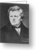 Georg Greeting Cards - Georg Ohm, German Physicist Greeting Card by Science Source
