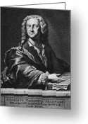 Georg Greeting Cards - Georg Philipp Telemann Greeting Card by Granger