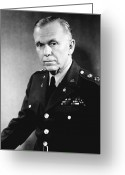 Prize Greeting Cards - George Marshall Greeting Card by War Is Hell Store