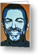 Varvara Stylidou Greeting Cards - George Michael  Greeting Card by Varvara Stylidou