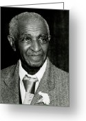 Hall Of Fame Photo Greeting Cards - George Washington Carver Greeting Card by Photo Researchers