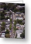 Germantown Photo Greeting Cards - Germantown Avenue CHHGF Greeting Card by Duncan Pearson