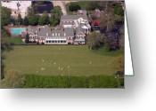 Flights Greeting Cards - Germantown Cricket Club 3 Greeting Card by Duncan Pearson