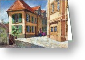 Baden-baden Greeting Cards - Germany Baden-Baden 04 Greeting Card by Yuriy  Shevchuk