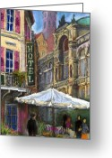 Baden-baden Greeting Cards - Germany Baden-Baden 07 Greeting Card by Yuriy  Shevchuk