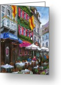 Baden-baden Greeting Cards - Germany Baden-Baden 10 Greeting Card by Yuriy  Shevchuk