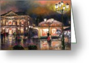 Baden-baden Greeting Cards - Germany Baden-Baden 14 Greeting Card by Yuriy  Shevchuk