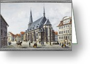 Weimar Greeting Cards - Germany: Weimar Greeting Card by Granger