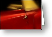 Old Car Door Greeting Cards - Get out of my dreams Greeting Card by Susanne Van Hulst