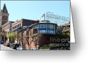 Ghirardelli Chocolate Factory Greeting Cards - Ghirardelli Chocolate Factory San Francisco California . 7D14093 Greeting Card by Wingsdomain Art and Photography