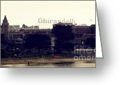 Bay Area Greeting Cards - Ghirardelli Square Greeting Card by Linda Woods
