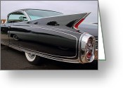 Antique Automobile Greeting Cards - Ghost Cadillac Greeting Card by Dennis Hedberg