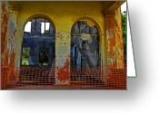 Abandoned Buildings Greeting Cards - Ghosts of Oahu Greeting Card by Elizabeth Hoskinson