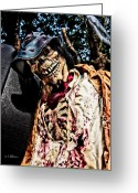 Ghoul Greeting Cards - Ghoulie Greeting Card by Christopher Holmes