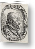 Physiognomy Greeting Cards - Giambattista Della Porta, Italian Scholar Greeting Card by Middle Temple Library