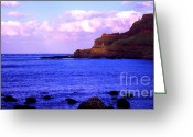 Honeycomb Greeting Cards - Giants Causeway Northern Ireland Greeting Card by Thomas R Fletcher