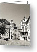 Benjamin Matthijs Greeting Cards - Gifhorn castle Greeting Card by Benjamin Matthijs