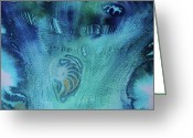 Sea Shell Art Greeting Cards - Gift from the Sea Greeting Card by Mary Sullivan