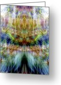 Shamanic Photo Greeting Cards - Gifts From A Fading Summer Day Greeting Card by Jane Tripp