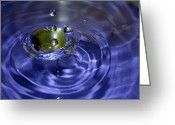 Fine_art Greeting Cards - Gimme 3 Drops... Of Water Greeting Card by Christy Patino