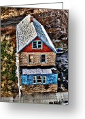 Nexus Greeting Cards - Ginerbread Greeting Card by Chuck Alaimo