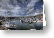 Gipsy Greeting Cards - Gipsy Moth IV at Milford Haven Marina Greeting Card by Steve Purnell