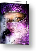 Seductive Photo Greeting Cards - Girl In The Window Greeting Card by Bob Orsillo